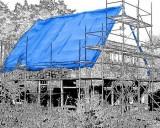 Plachty 250gr/1m2 modrá (s UV stabilizátorem)