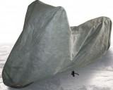 Plachta na skútr a motocykl netkaná textilie, šedá