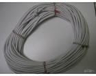 Pružné gumové lano 8mm / 50m návin