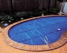 Solární plachta na bazén - 1m2