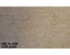 Plachty z celtoviny 100% lněná příze - 530g/m² - režná - cena za 1 m²